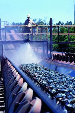 Operación de mineral de hierro de la brasileña Vale.