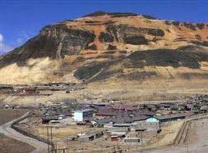 mina de cobre en Perú