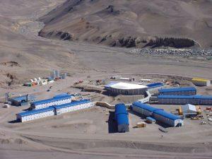 mina Veladero, en la provincia de San Juan, Argentina