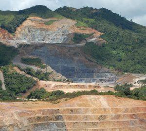 mina en Nicaragua