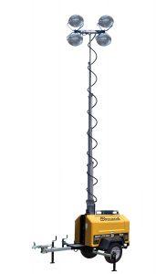 torre de iluminación para minería