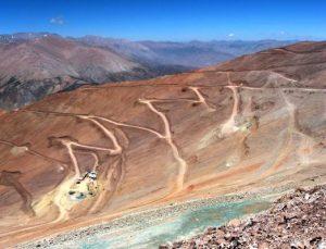 Mina Caserones Chile